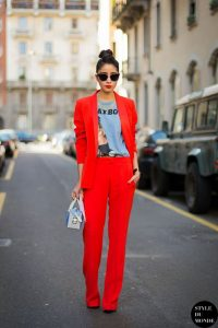 moda rosso 2018