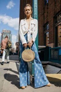 Tendenze Primavera Estate 2018 - pantaloni a zampa