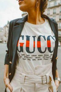 Tendenze Primavera Estate 2018 - logo a vista Gucci